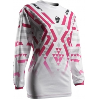 Camisola pulse facet mulher branco/rosa